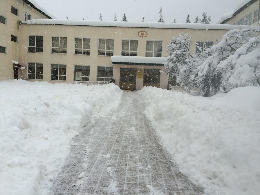 Правила уборки снега с дорог в городах